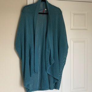 Element Long Open-knit sweater